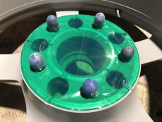 Polyester Klebeband Ronde 150 mm, 50 Stk. auf Rolle